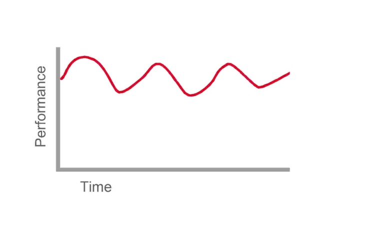 roller coaster performance curve